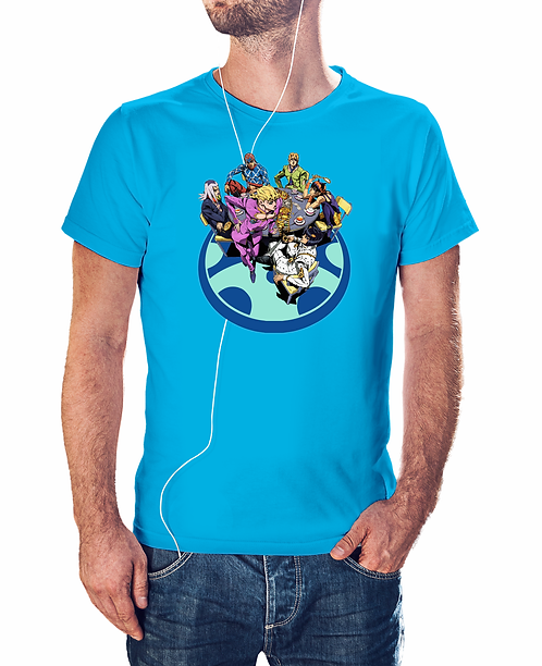 JoJo's Bizarre Adventure Characters T-Shirt