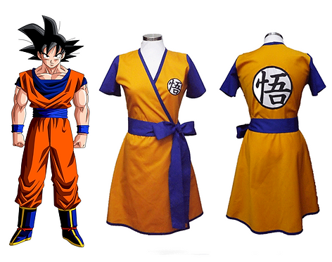 Dragon Ball Inspired Dress Cosplay