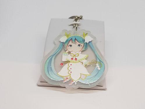 Vocaloid Hatsune Miku Winter Keychain