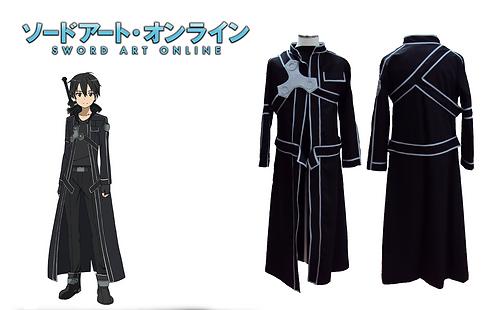 Sword Art Online Kirito Cosplay