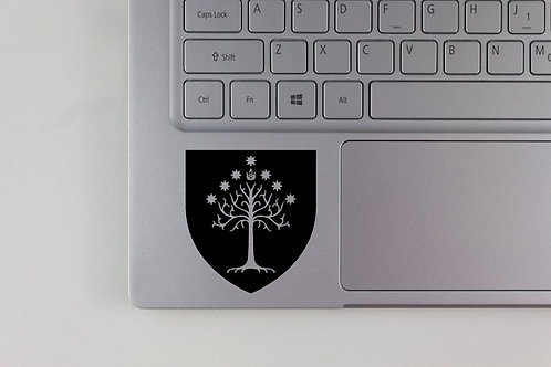 Lord of the Rings White Tree of Gondor Decal
