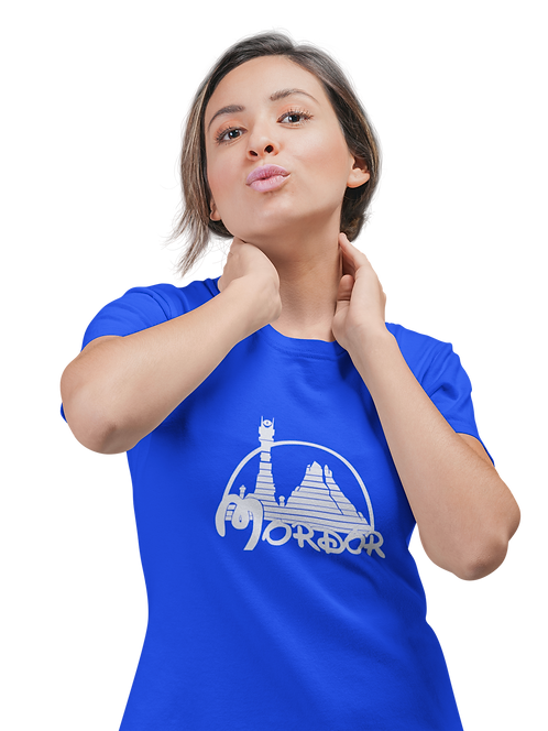 Funny Inspired Mordor Disney Logo T-Shirt
