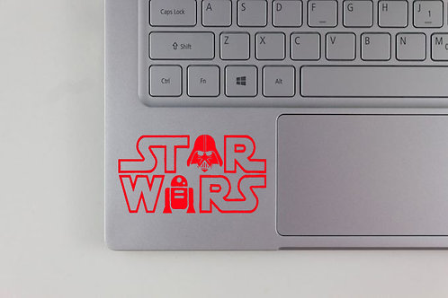 Star Wars Funny Logo Decal