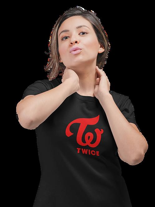 K-Pop Twice Logo T-Shirt