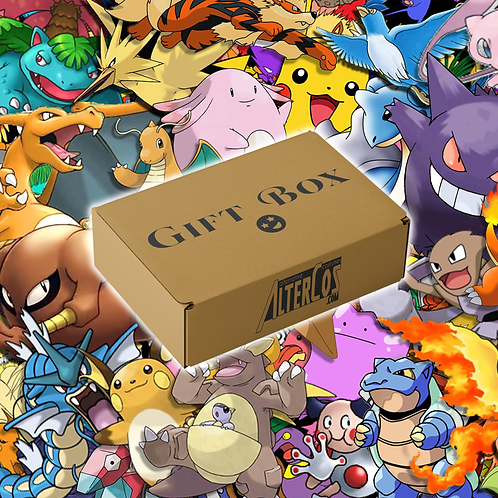 Gift Box!! - Pokemon