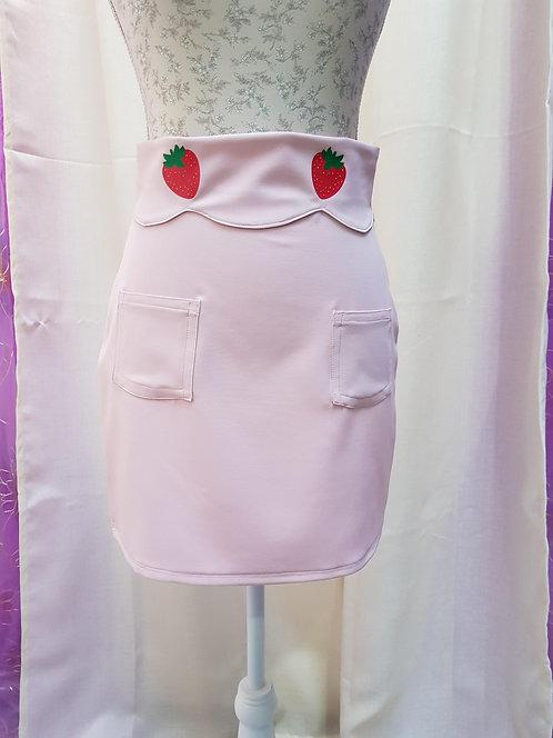 Kawaii Strawberry Skirt