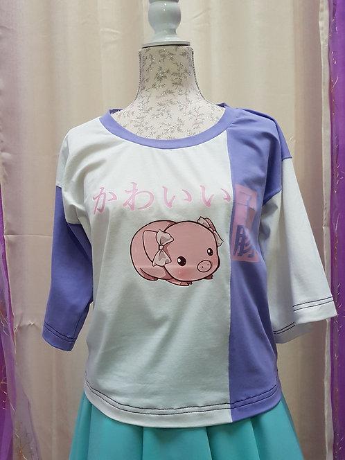 Kawaii Little Pig T-Shirt