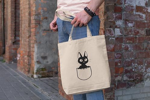 Kiki delivery Service Jiji in Poket Tote Bag