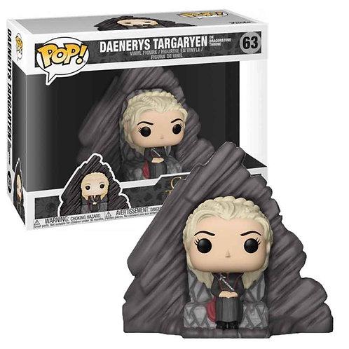Game of Thrones POP! Rides Vinyl Figure Daenerys on Dragonstone Throne 15 cm