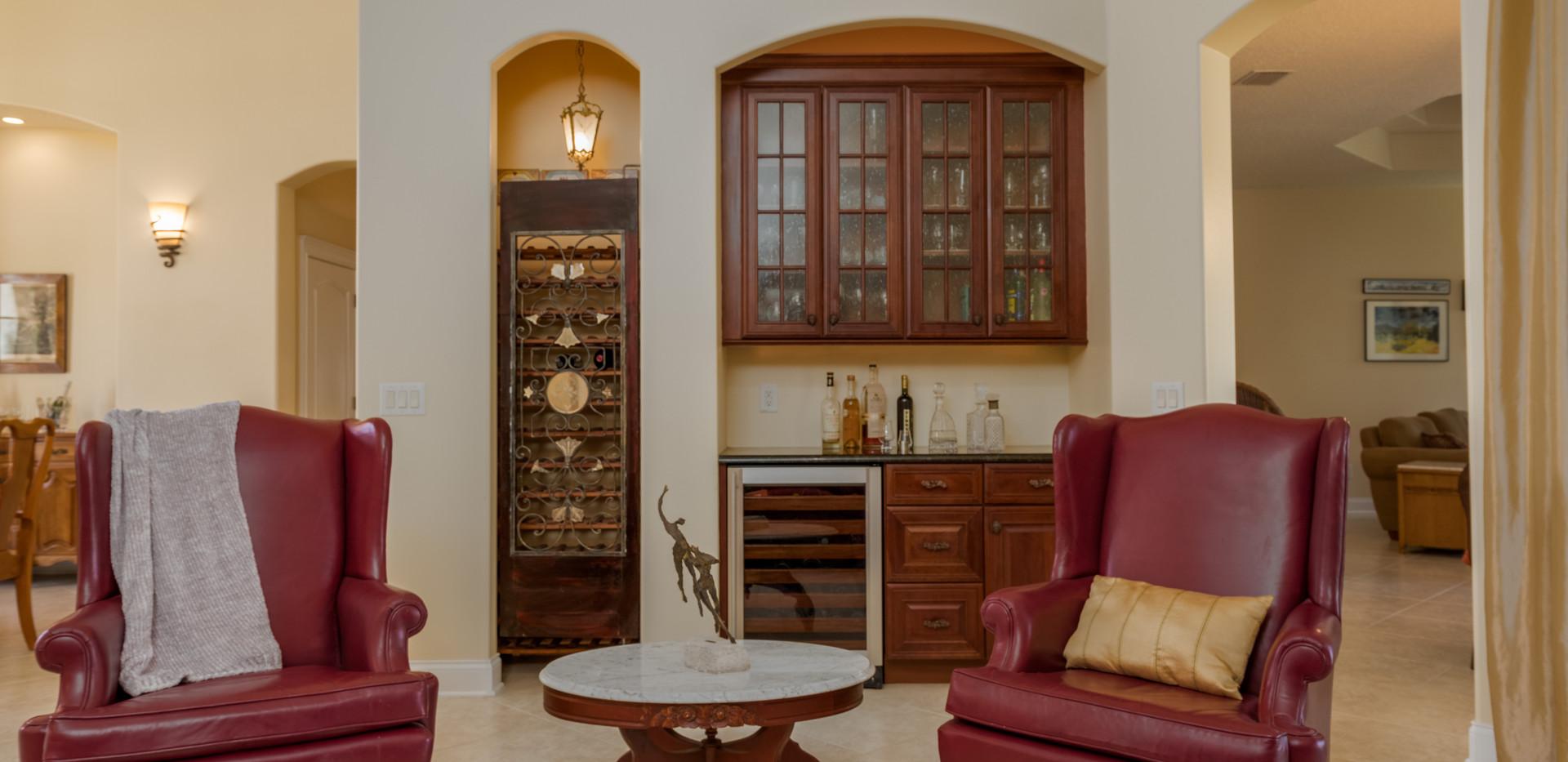 Wine Bar & Storage