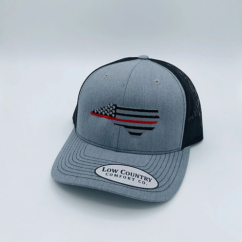 Low Country Thin Red Line Hat