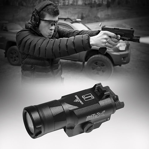 Tactical Gun Mounted Light