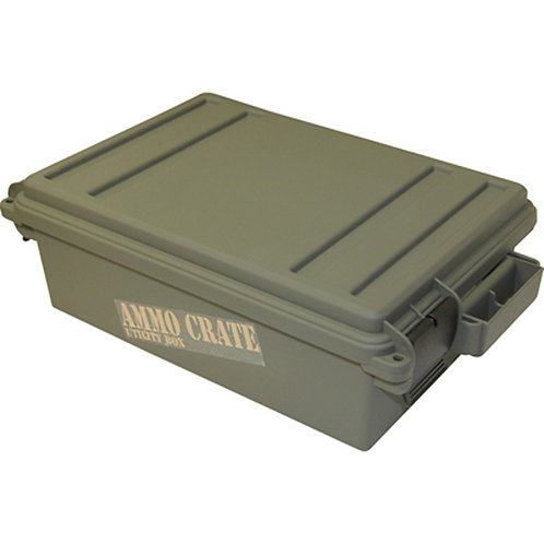 Ammo Crate Utility Box - Army Green