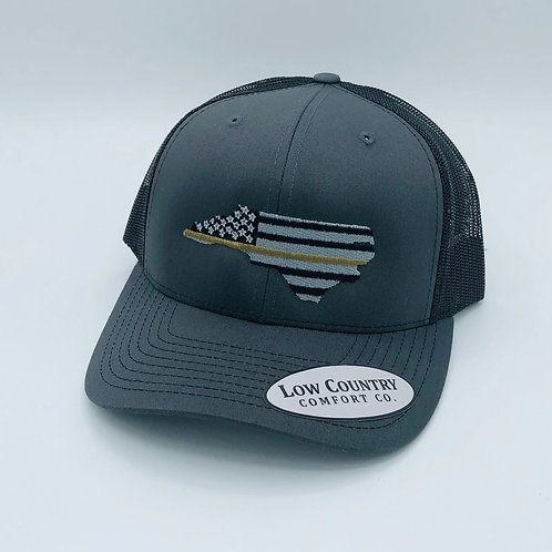 Low Country Thin Green Line Hat