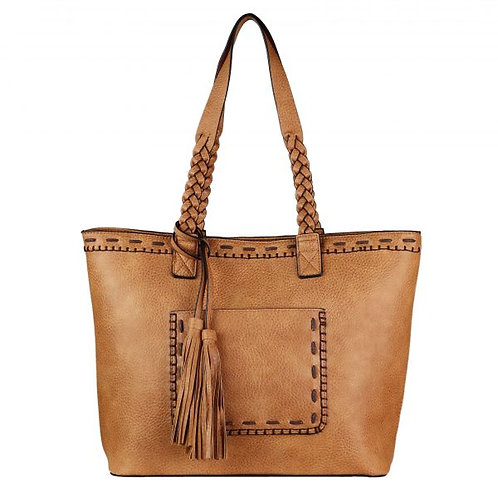Concealed Carry Cora Stitched Tote