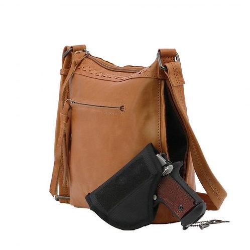 Concealed Carry Faith Leather Crossbody