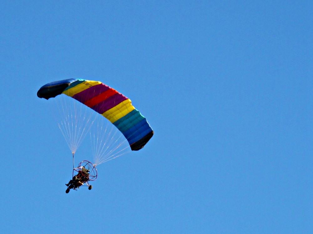 Nahal Poleg - Powered Parachute (Paragliding)