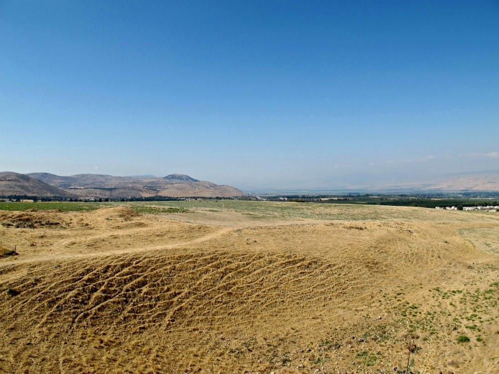Tel Hazor: View