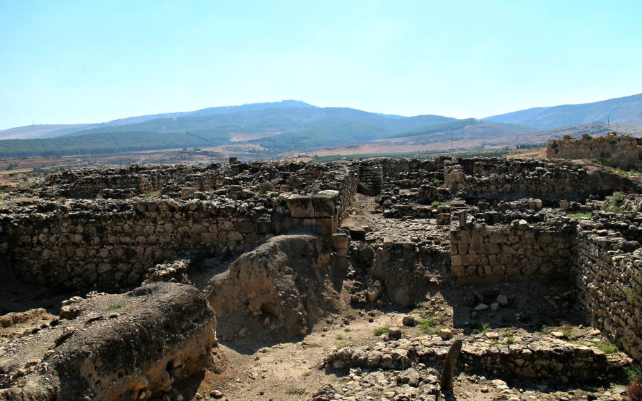 Tel Hazor - The ancient city