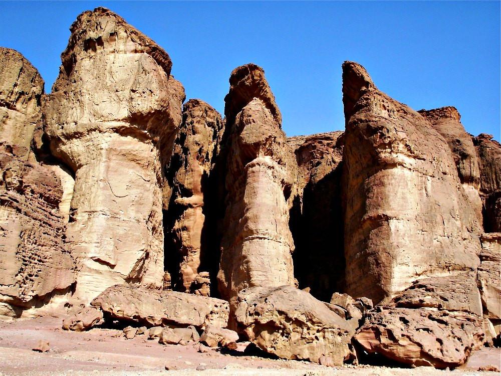 The Solomon Pillars