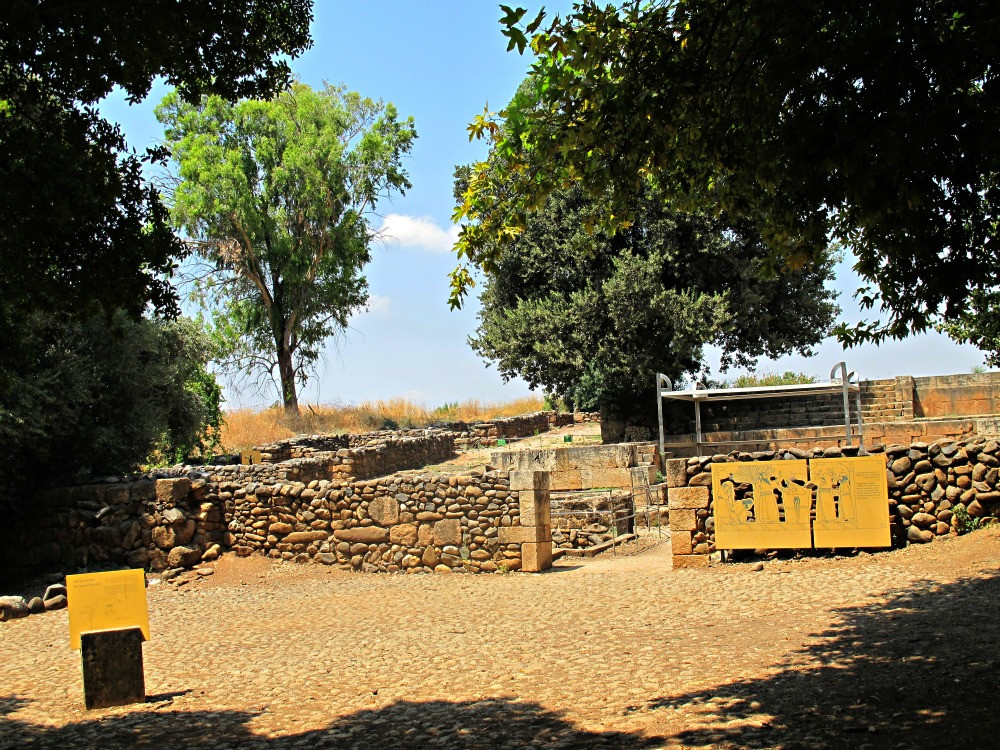 The ritual site