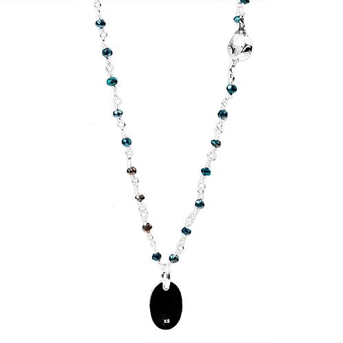 Petit Noir Necklace w/pendant