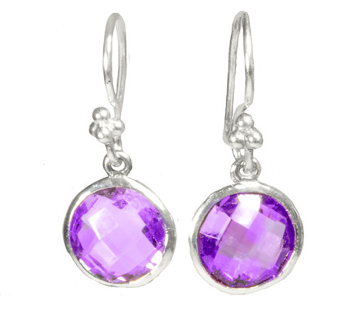 Amethyst AAA quality on Sterling silver