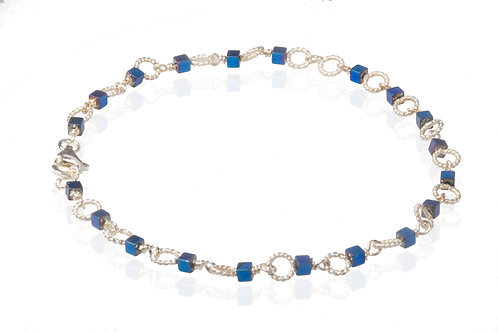 Circle blue hæmatine