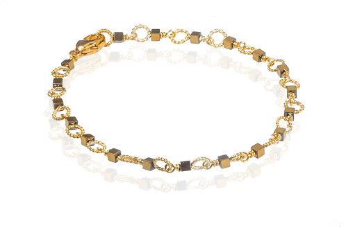 Circle gold hæmatine