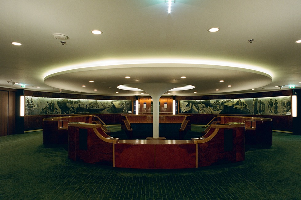 Guest reception area
