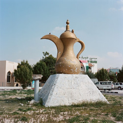 Coffee Pot & Pigeon