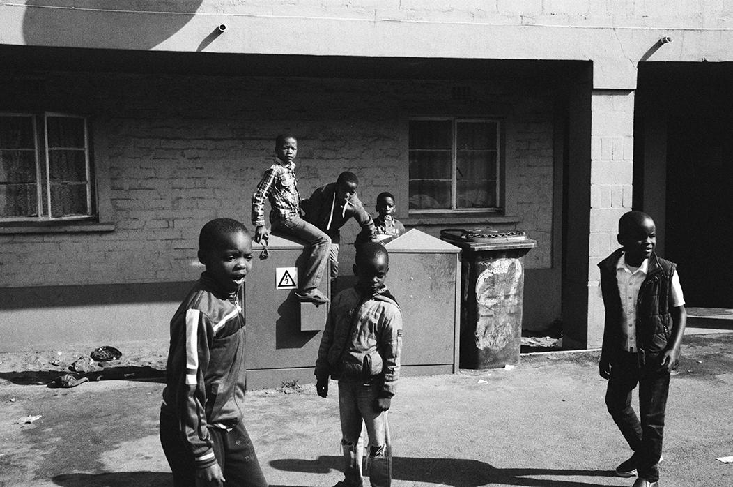 Langa township Children