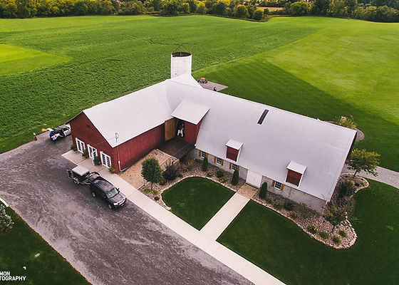 Birds Eye View of Hayloft on the Arch