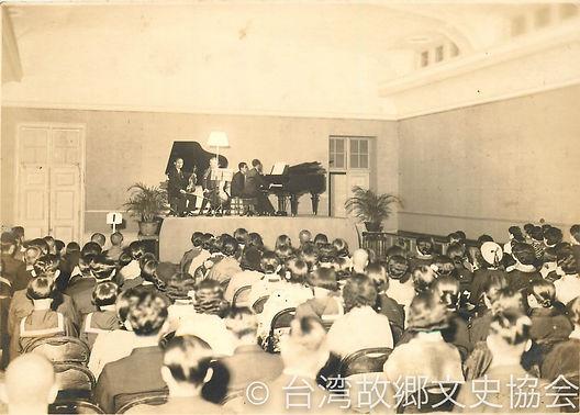 wm10-2・11金子先生送別会・1939-0128@龍口町教育会館、ピアノトリ
