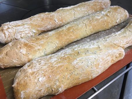 Home made bread, brioche and pasta