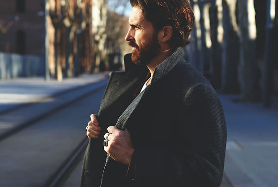 Portrait of fashionable well dressed man
