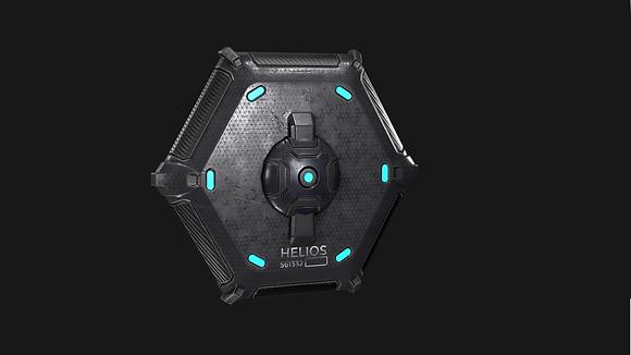 Helios Carbon Fiber Buckler