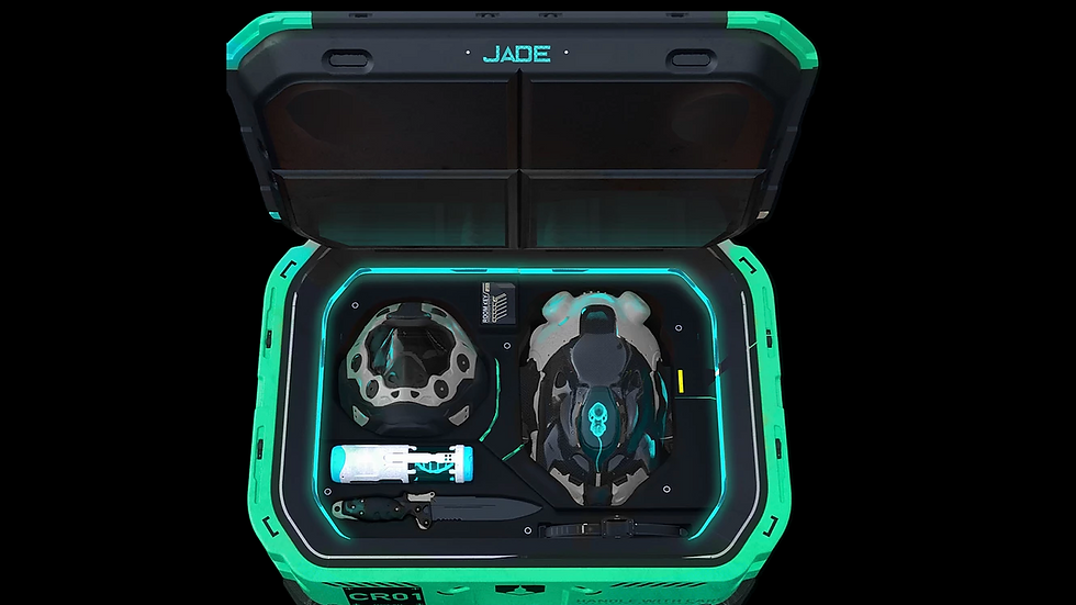Alter Titan Jade Crates for Two