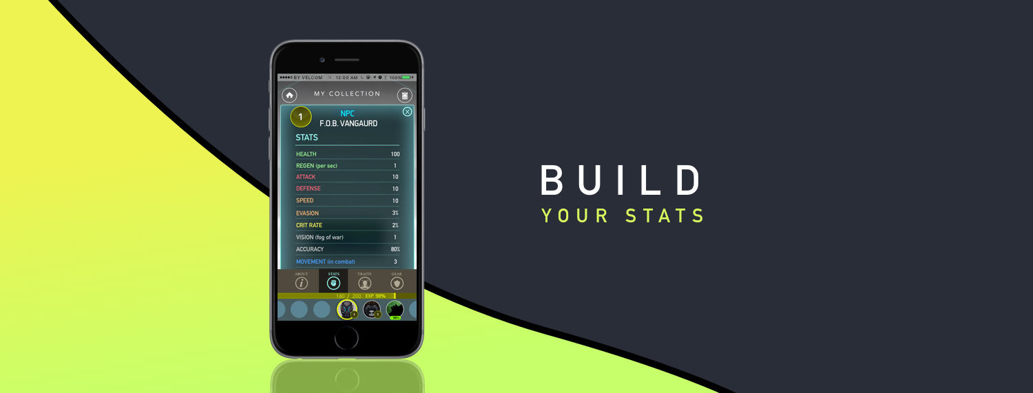 Build Your Stats