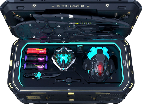 Pacific Deep Interrogator Crate