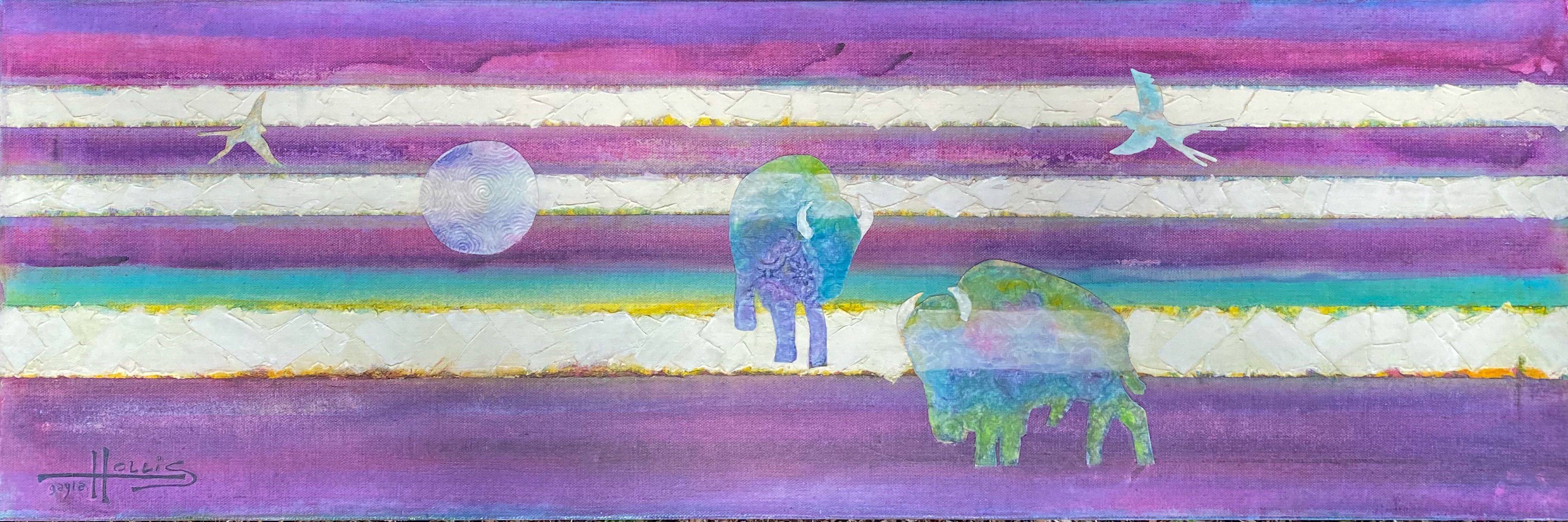 Purple Moon Buffalo