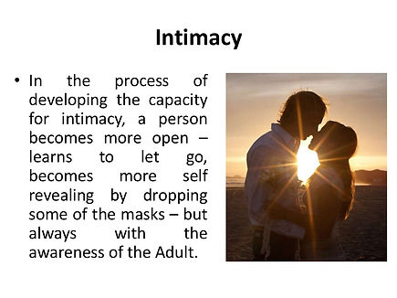 Sacred Union, Intimacy And Communication