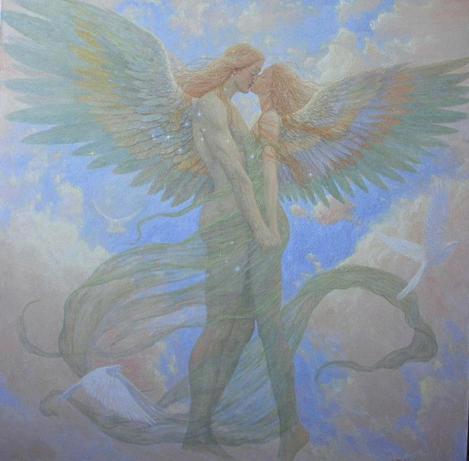 Twin Flames Alchemy - Hieros Gamos - The Union WIthin