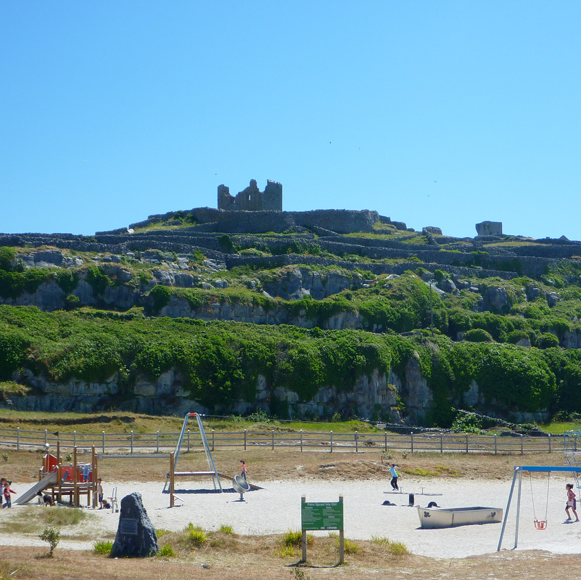View of O'Brien's Castle