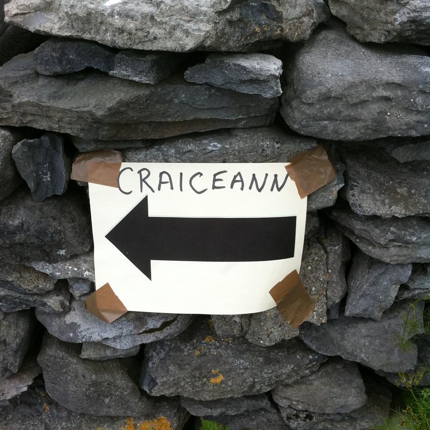 Sign to Craiceann