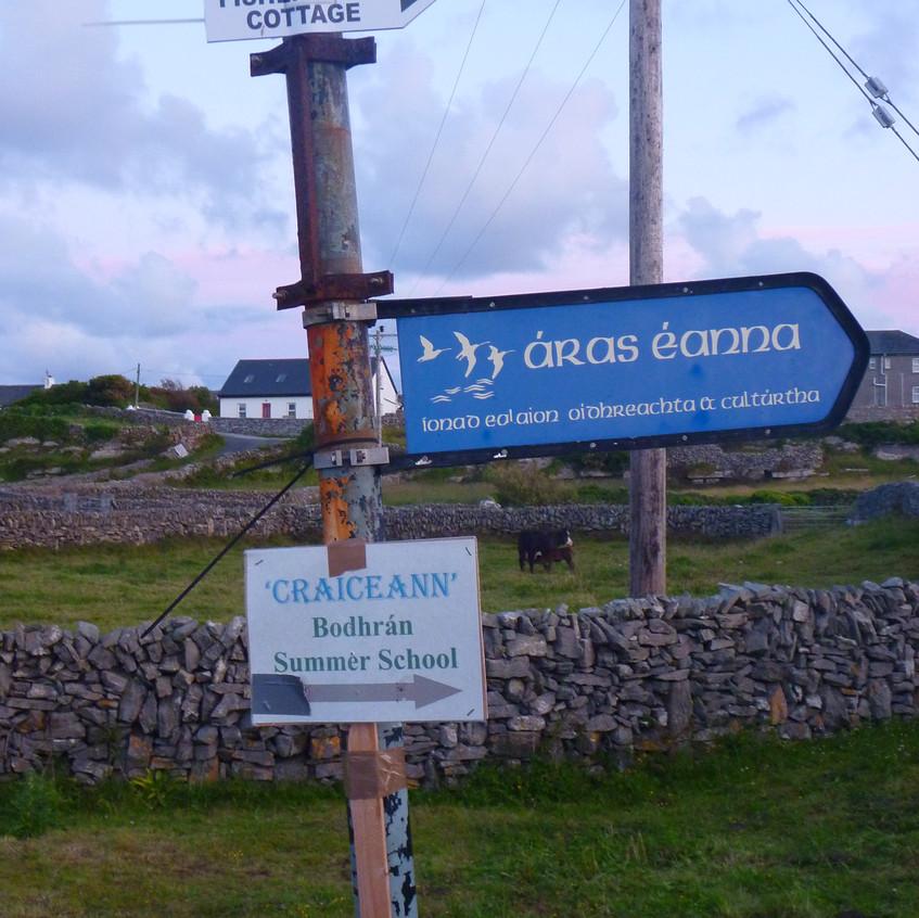 Island Signage