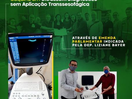 Hospital Centenário recebe novos equipamentos com emenda destinada pela deputada Liziane Bayer