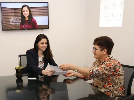 Deputada Liziane Bayer garante R$ 100 mil para saúde de Paverama