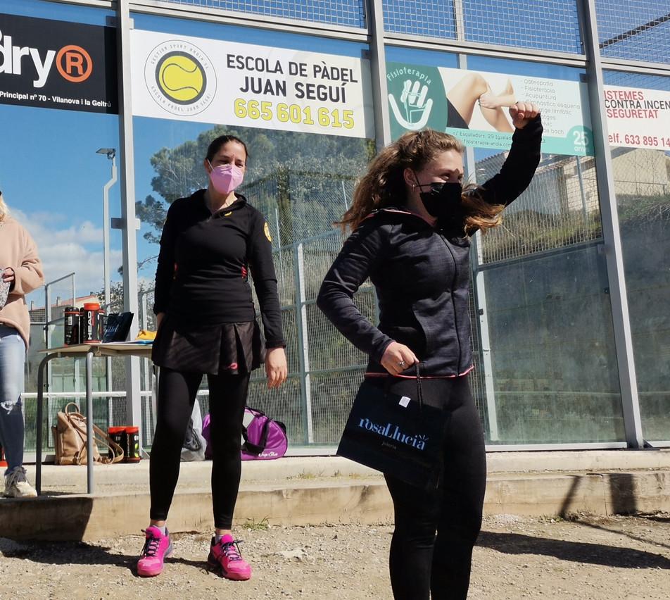 II TROBADA PÀDEL FEMENÍ