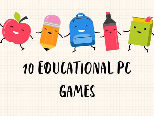 Educational PC Games Your Kids Will Love
